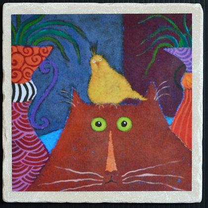 Tweety Bird, Coaster 4x4 inches