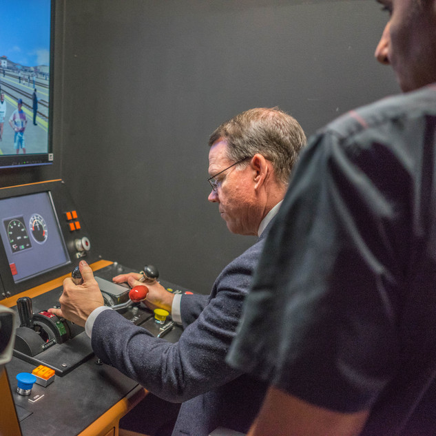 Metro Link Demo of PTC Technology