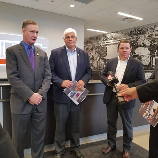 Graves visits with Stivers, Gibbs, and Tiberi in Columbus, Ohio