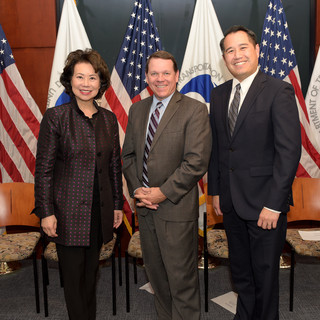 Graves Meets with Secretary Chao and Under Secretary Kan
