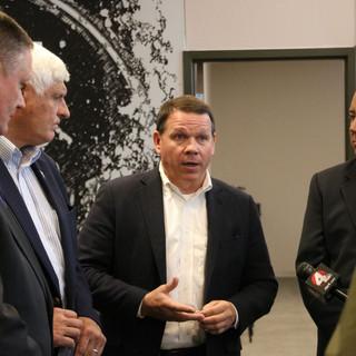 Press Gaggle with local Ohio Delegation