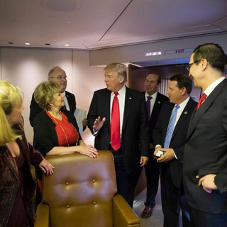 Members of the Missouri Delegation Join President Trump on Air Force One