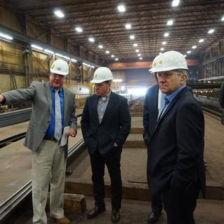 Graves Joins Smucker Steel Manufacturer Tour