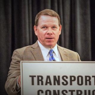 Graves Talks to Transportation Construction Coalition