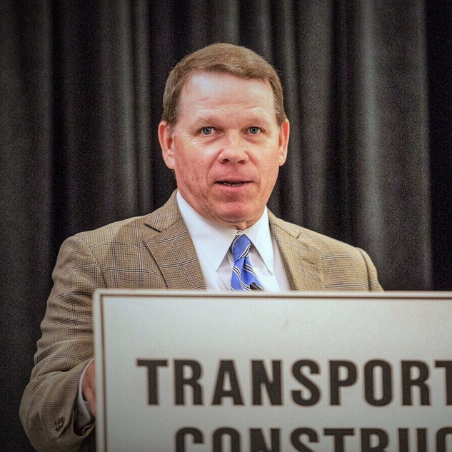 Graves Talks to Transportation Construction Coalition