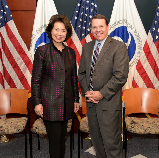 Secretary Chao and Graves