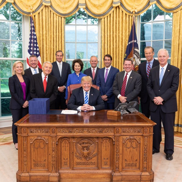 Oval Office for FAA Signing
