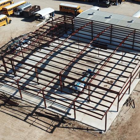 Metal Building Extension