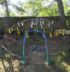 Cérémonie Inipi Hutte à sudation - Tradition Amérindienne