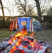 Cérémonie Amérindienne Inipi Hutte à Sudation Quête Vision