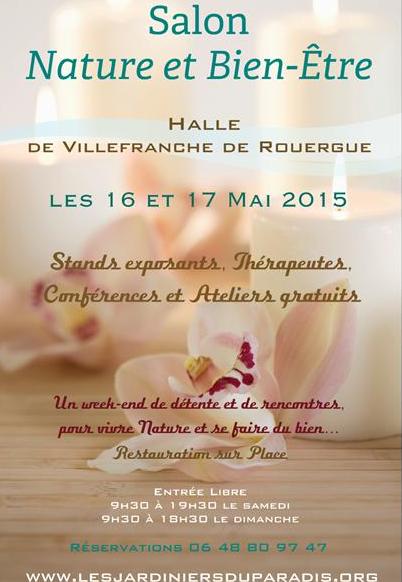 Salon Nature & Bien-Être - Villefranche de Rouergue - 2015