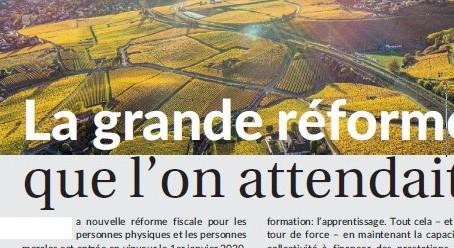 La grande réforme fiscale du Canton de Neuchâtel
