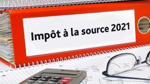 Impôts à la source - Employé