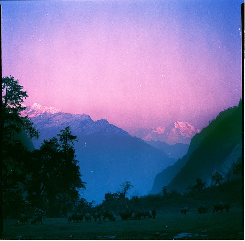 Nepal Sunset