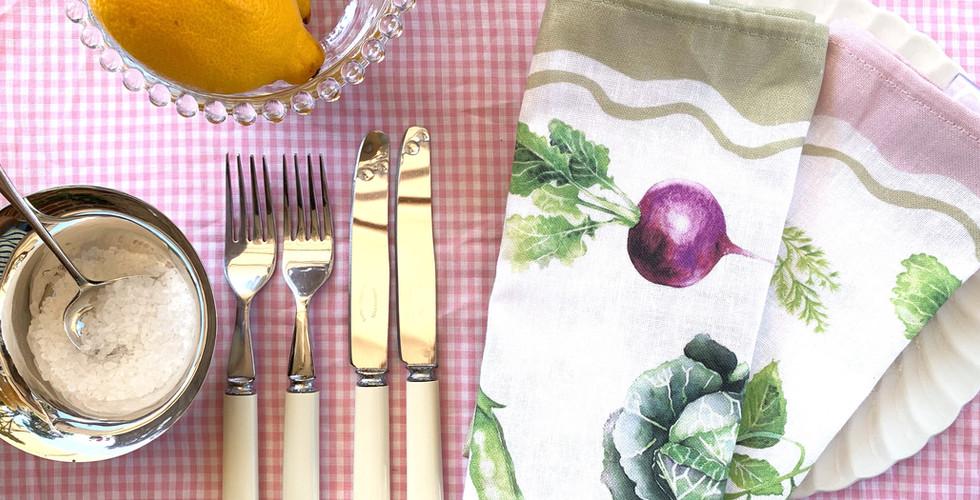 Kitchen Garden Linen Napkins