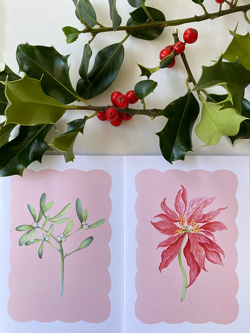 Greetings Cards - Eight Pack