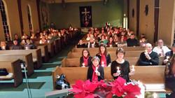 Congregation Christmas Eve Candlelight 2016