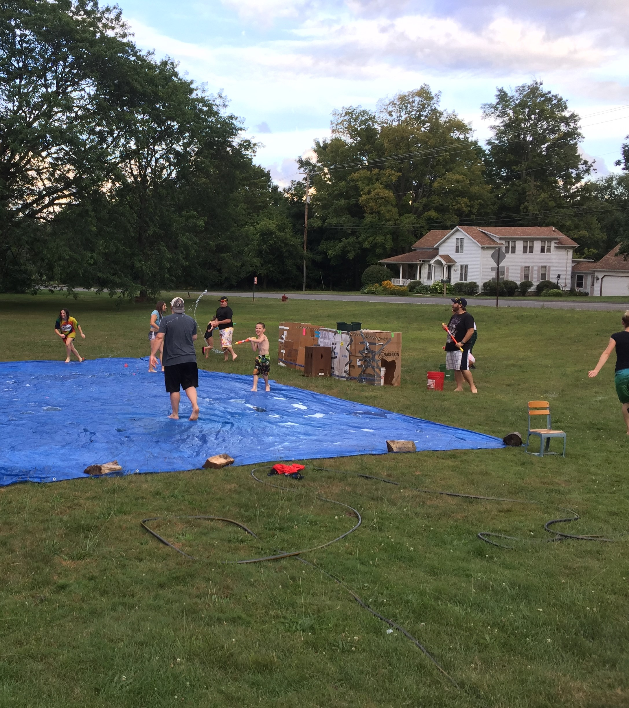 Water fight 15