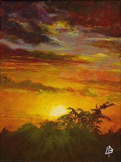Saint Simon sunset III