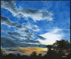Saint Simon sunset II