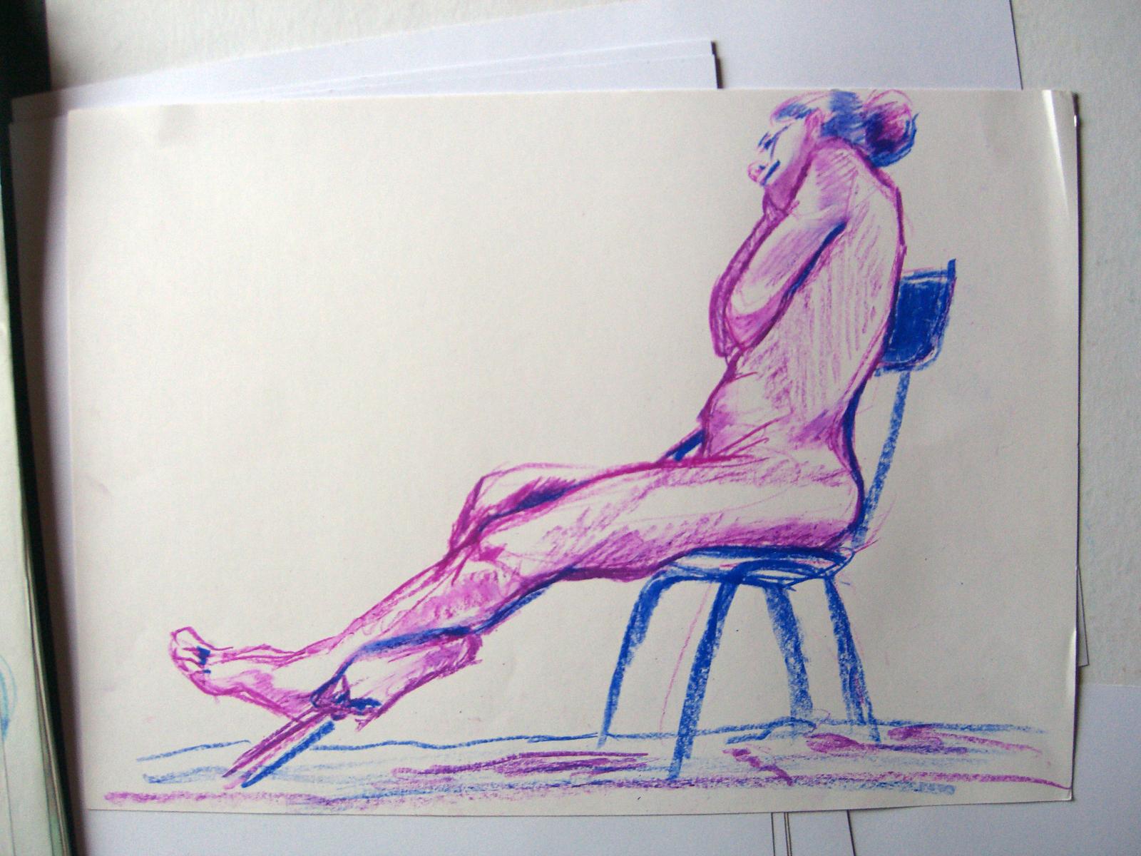 Pose à la chaise