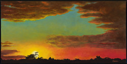 Saint-Simon sunset I