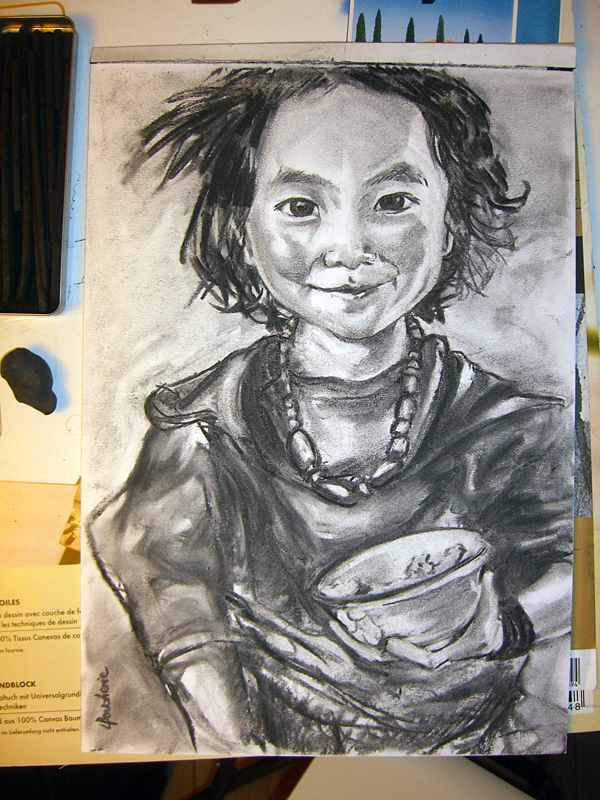 Enfant au bol