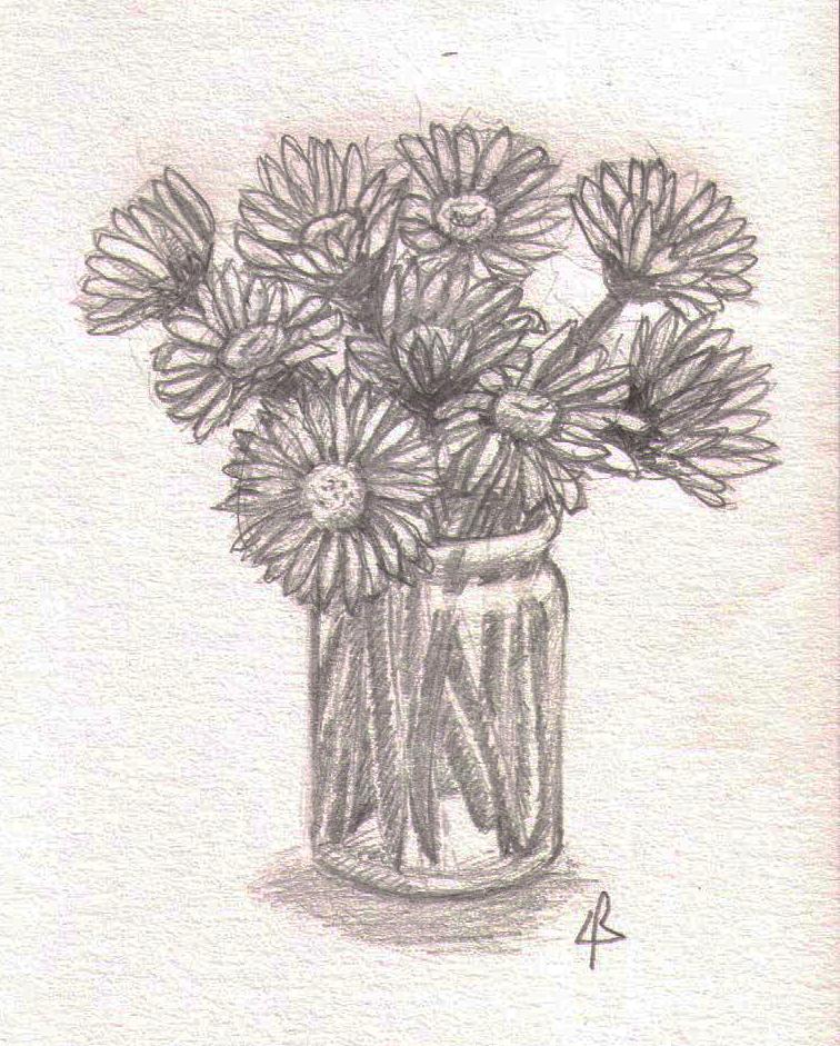 Bouquet de pâquerettes