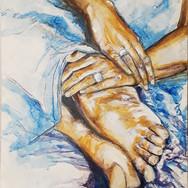 Des mains et des pieds