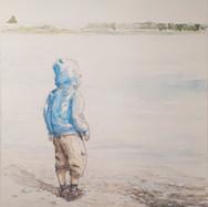 Liam au lac Laramée
