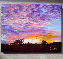 Saint-Simon sunset IV