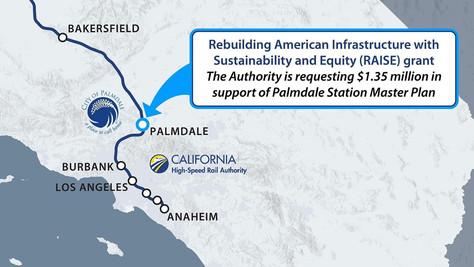 City of Palmdale Announce Partnership to Advance Palmdale Station Planning.