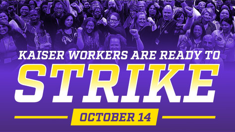80,000 Kaiser Permanente Workers to Strike Nationwide Oct. 14