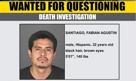 Man wanted for questioning in afatal hitandrun in Acton.