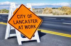City of Lancaster Weekly Road Closures through August 25, 2019