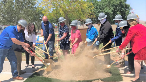 Groundbreaking Ceremony Held at Wilsona School District.