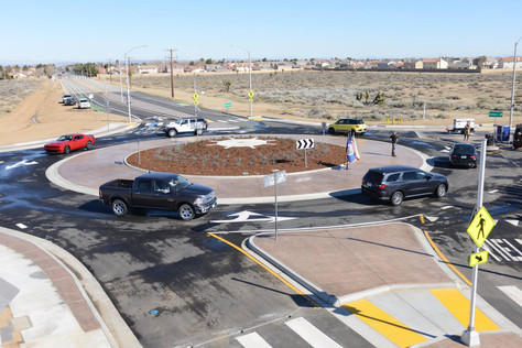 Lancaster's First Roundabout to Reduce Speeds, Enhance Safety, and Improve Traffic Efficiency