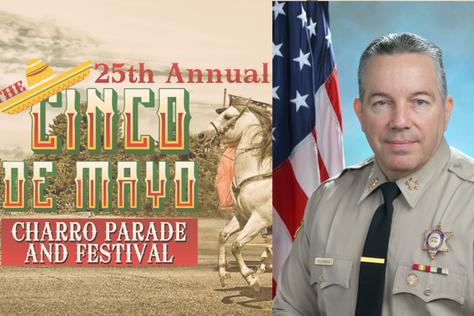 Sheriff Villanueva 2019 Cinco de Mayo Grand Marshalin Lake Los Angeles