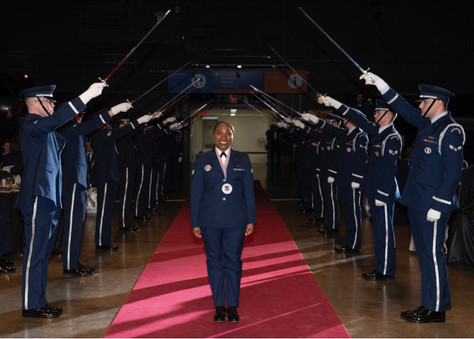 Senior Airman Mutia M. Graham of Edwards Air Force Base is one of Air Force Materiel Command's t