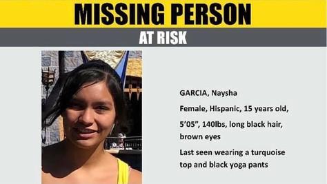 Missing Teen, Naysha García.