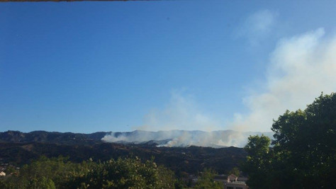 The Santa Clarita Calgrove Fire Forces Evacuations and Closures of Highways.
