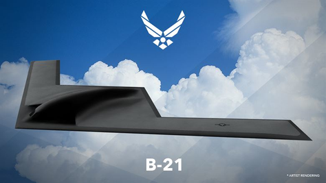 The  B21 Raider is being produced in Northrop Grumman's Palmdale, California