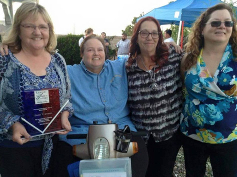 Congratulations to Diane Grooms, 2015 Rankin Award winner