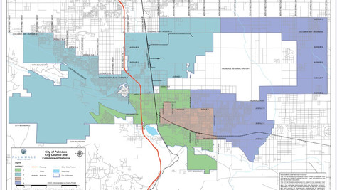 Palmdale Is Redrawing Its City Council Districts