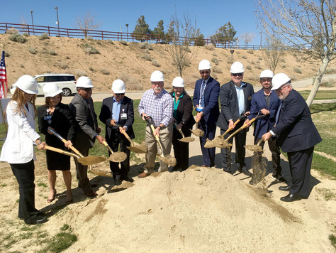 Ground Broken for Fitness Court at Pelona Vista Park In Palmdale.