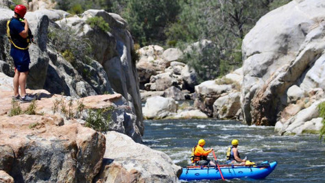 Two Young Men Still Missing In The Kern River.