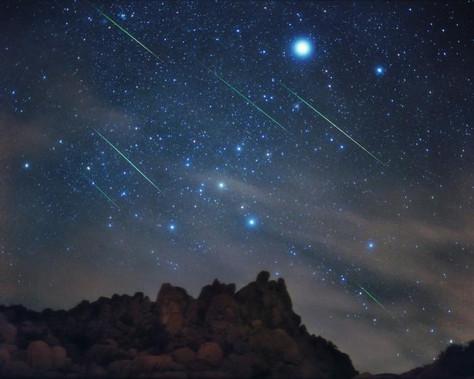 Lyrid Meteor Shower in 2016