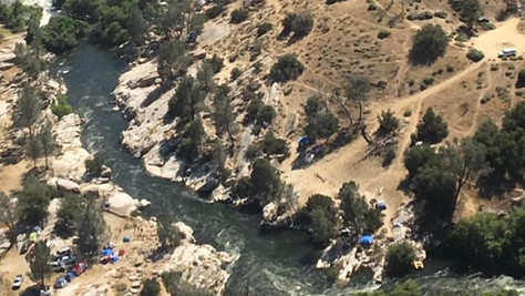 Kern County Sheriff's Office responds to three separate calls for people missing in the water.