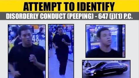 Help Identify a peeping suspect.