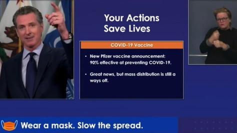 """Gov. Newsom Announces Historic """"Vax for the Win"""" Program"""